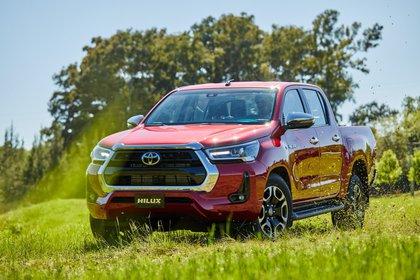 Una de las pickups más vendidas de la región (Toyota)