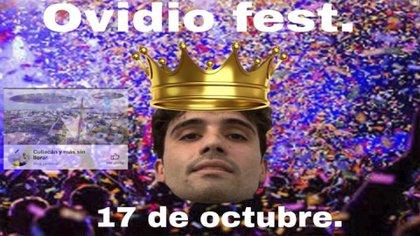 """El grupo de Facebook """"Culiacán y más sin llorar"""" publicó la convocatoria al Ovidio Fest (Foto: Facebook @culichiposting)"""