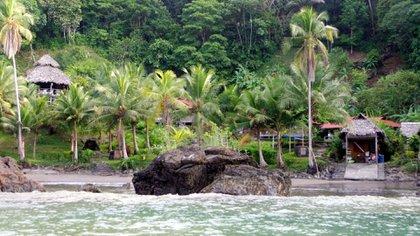 Playas de Nuquí en el departamento del Chocó.  Foto: Colprensa.