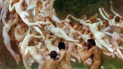 """La belleza del día: """"Las Oreadas"""", de William-Adolphe Bouguereau"""