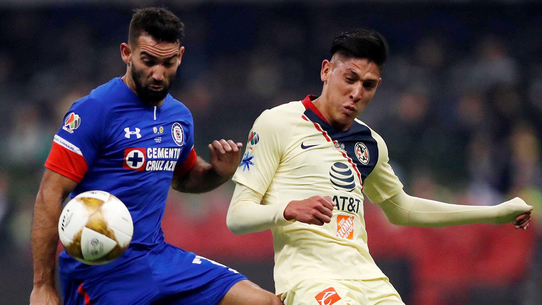 América contra Cruz Azul en el estadio Azteca (Foto: Reuters / Edgard Garrido)