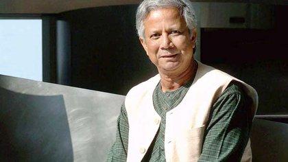Muhammad Yunus fue Nobel de la Paz en 2006
