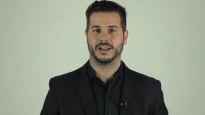 Nicolás Magaldi, conductor de la 26ª edición de los premios Fund TV