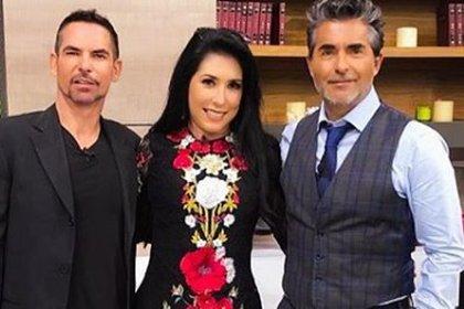 Estela Durán junto a Armando y Raúl Araiza (IG: esteladuranphd)