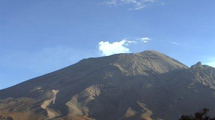 El Popocatépetl registró 506 exhalaciones en las últimas 24 horas (Foto: cenapred.unam.mx)
