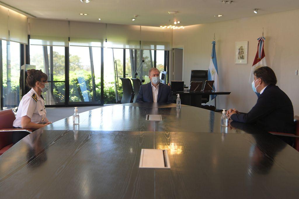 Juan Schiaretti nombra nueva jefa de policía de Cordoba