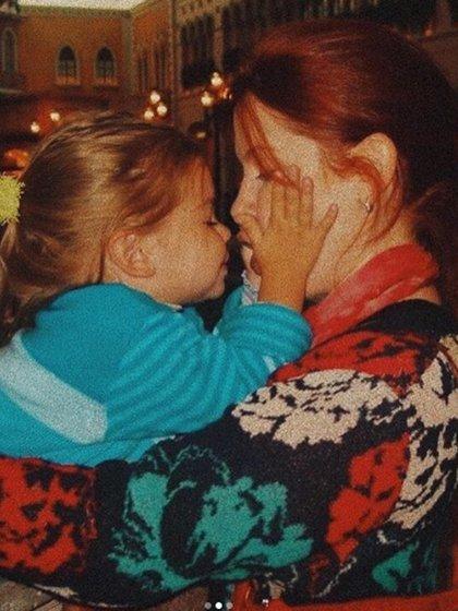 La actriz y su hija son muy unidas y tienen una excelente relación (Foto: Instagram)