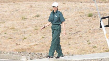 La actriz pasó casi dos semanas en la Institución Correccional Federal en Dublin, California (Grosby Group)