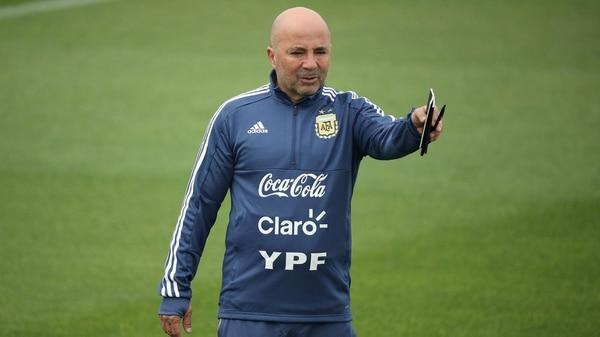 Jorge Sampoli, director técnico de la Selección (Reuters)