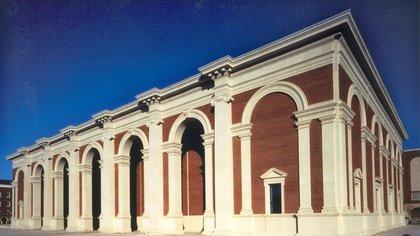 Fachada del Museo Meadows, que expone una de las más grandes y valiosas colecciones privadas de arte español, ubicado en Dallas (Texas). EFE/Archivo