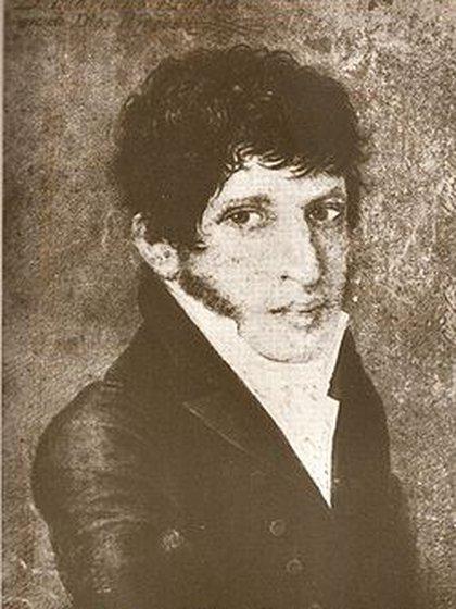 Moreno, en un retrato hecho en su juventud.