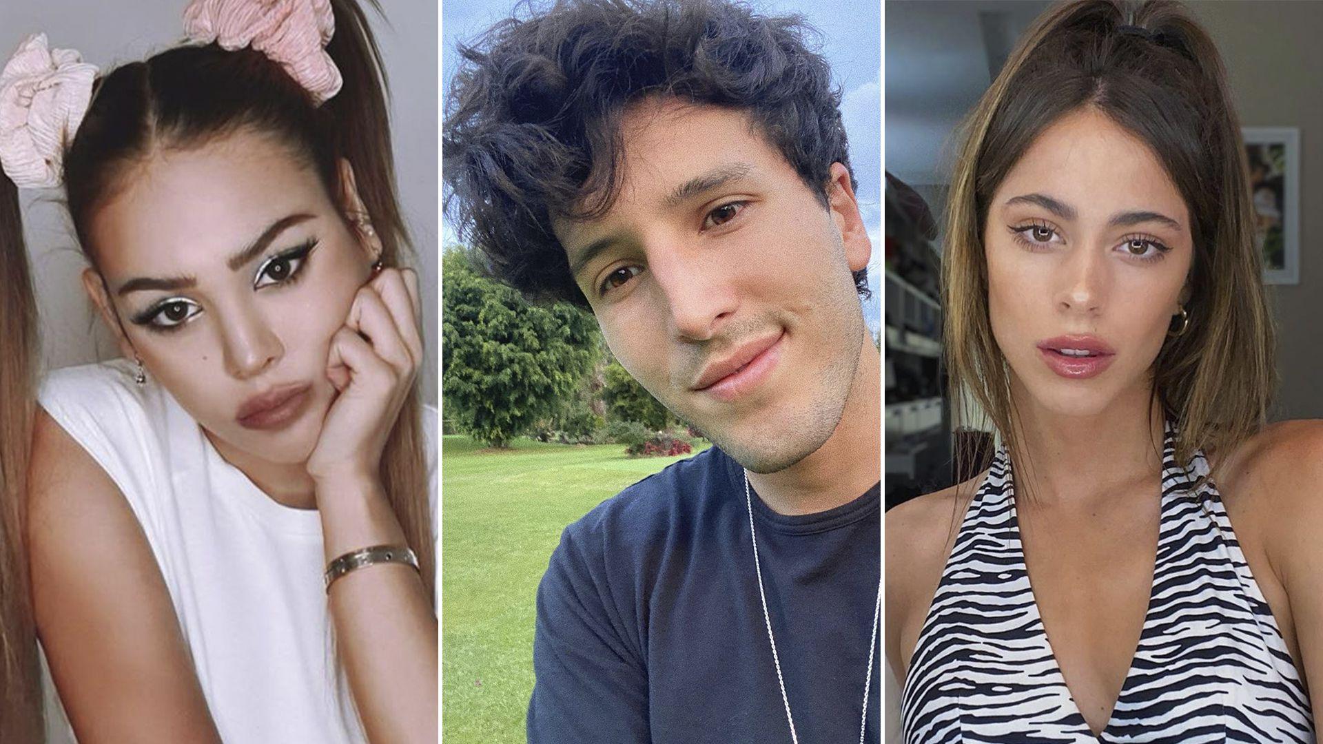 Danna Paola, la posible causante de la ruptura de Sebastián Yatra con Tini Stoessel