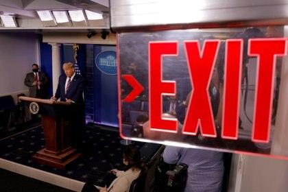 El presidente perdió las elecciones, pero insistió en denuncias de fraude y no reconoció el resultado