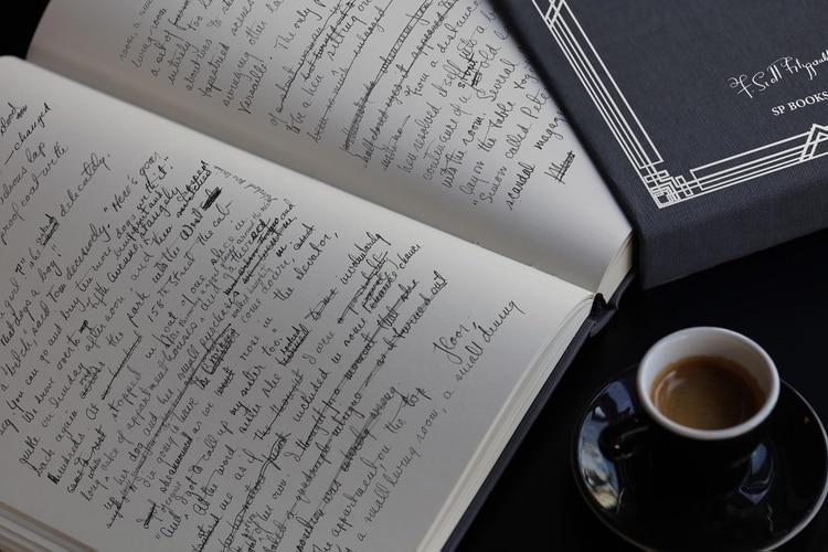 El manuscrito original de