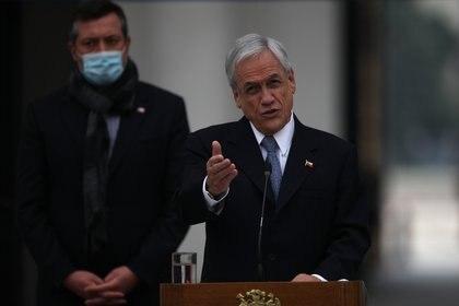 29/05/2020 El presidente de Chile, Sebastián Piñera POLITICA INTERNACIONAL Ailen Diaz/Agencia Uno/dpa