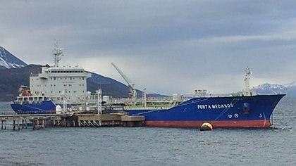 El buque partió el 7 de enero desde La Plata hacia Comodoro Rivadavia