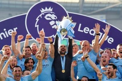 El Manchester City fue el primero de los 12 fundadores en abandonar la Superliga (Reuters)