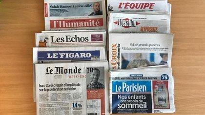 Diarios franceses