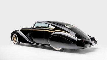 El Black Pearl, uno de los autos premiados del guitarrista. (Museo Petersen)