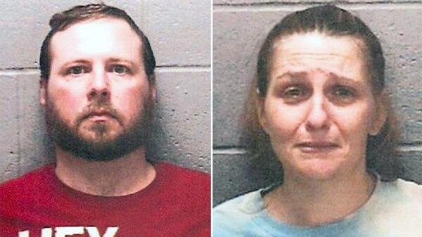 Michael y Georgena Roberts quedaron detenidos en el Penal del Condado de Jersey, Illinois