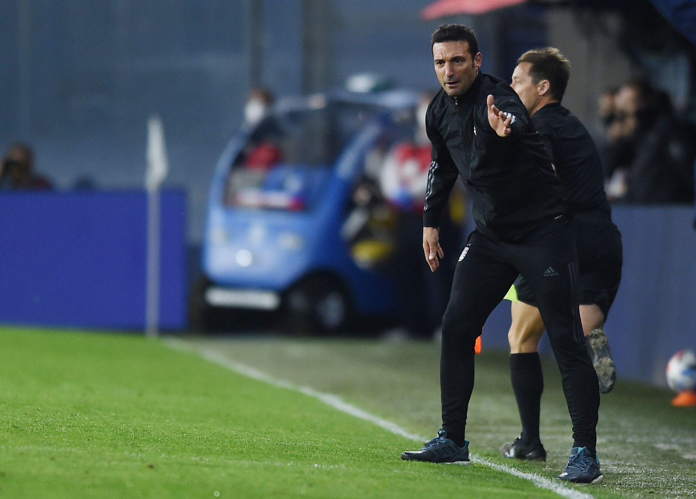Lionel Scaloni, entrenador de la selección argentina (REUTERS/Marcelo Endelli)