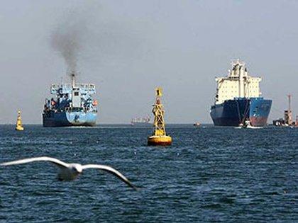 Buques iranies en el canal de Suez