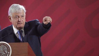 López Obrador insistió en no aumentar la medidas para su seguridad. (Foto: EFE)