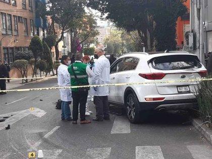 Los hechos se registraron en el cruce que forma la calle de Castañeda y anillo Periférico Sur (Foto: Especial)