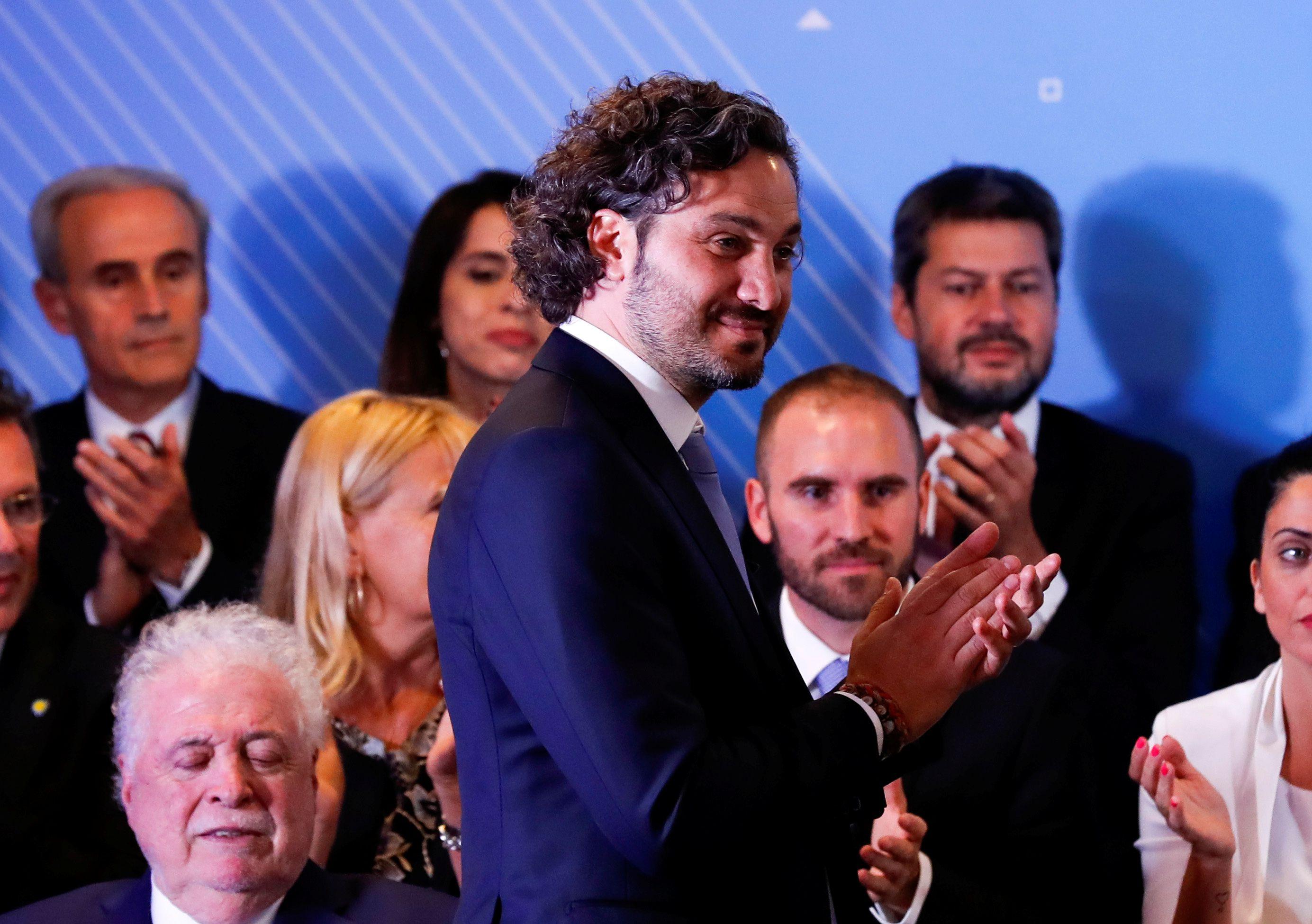 El jefe de Gabinete, Santiago Cafiero, dijo que enviarán al Congreso un proyecto de Ley de Emergencia Económica
