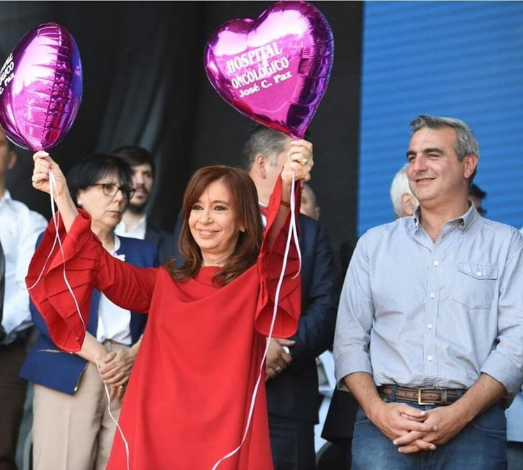 Durañona junto a la ex presidenta Cristina Kirchner (@pacoduranona)