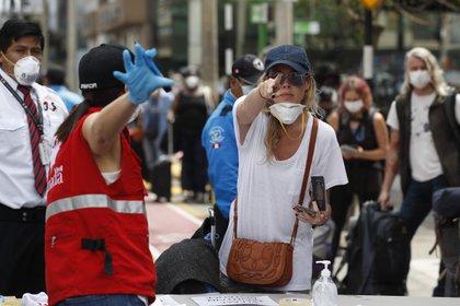 Este lunes, la provincia de Ontario, la más poblada de Canadá, registró 4.401 nuevos casos de covid-19, la segunda mayor cifra desde el inicio de la pandemia, y 619 pacientes en las Unidades de Cuidados Intensivos (UCI). EFE/Paolo Aguilar/Archivo