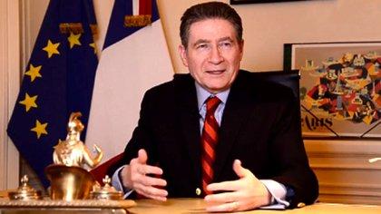 Pierre-Henri Guignard, ex embajador de Francia en Argentina, durante una entrevista de balance de gestión con Infobae