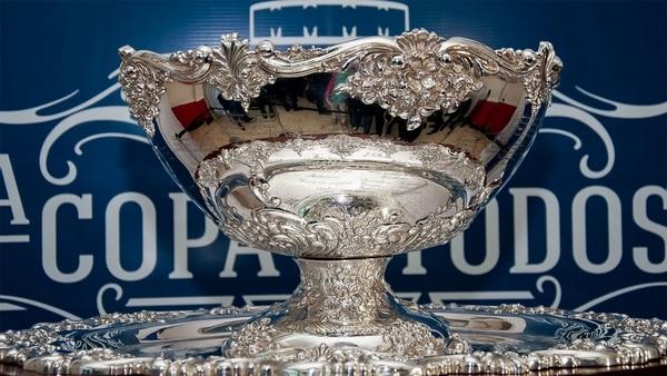 El trofeo que otorga el torneo internacional