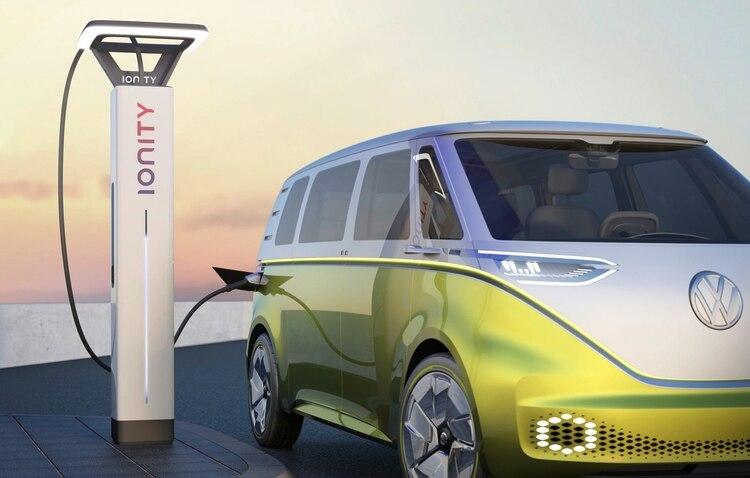 El concept denominado ID. BUZZ adelanta que la nueva Kombi será eléctrica.
