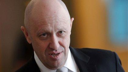 """Yevgeny Prigozhin, el poderoso empresario ruso apodado """"el chef de Putin"""". (AFP)"""