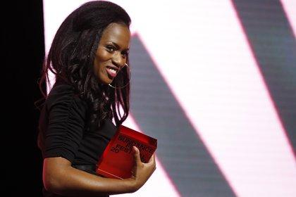La directora Maimouna Doucoure ganó el premio a la mejor dirección de una cinta dramática internacional en Sundance (Foto: EFE/EPA/GEORGE FREY)