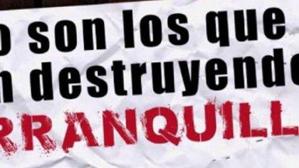 Con un panfleto amenazan a organizaciones y ciudadanos que apoyan el Paro en Barranquilla