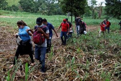 Guatemala ha abierto todas sus fronteras, incluida la que comparte con México. (Foto: Reuters/Luis Echeverria)