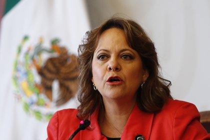 La subsecretaria mexicana para Asuntos Multilaterales y Derechos Humanos, Martha Delgado. EFE/José Méndez