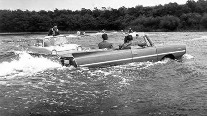 El Amphicar duró 7 años, pero no logró imponerse y fue un fracaso comercial.
