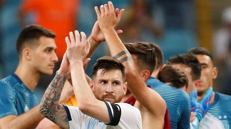 Pagani se animó a dar a Argentina como campeón de la Copa América(Foto: REUTERS)
