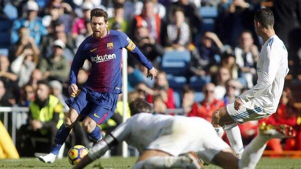 Messi fue la figura del Clásico caminando el 83% del partido