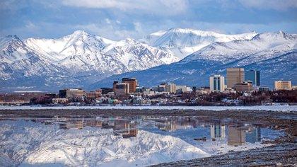 Anchorage, en Alaska (Shutterstock)