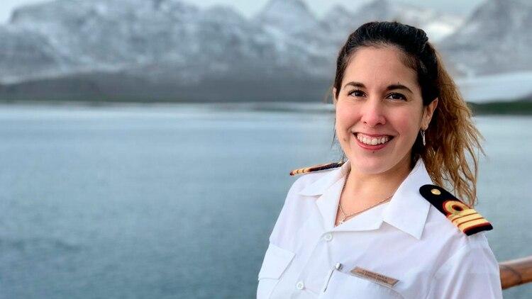 Hace seis años que trabaja para la compañia de cruceros, este 2020 eligió la expedición por la Antártida