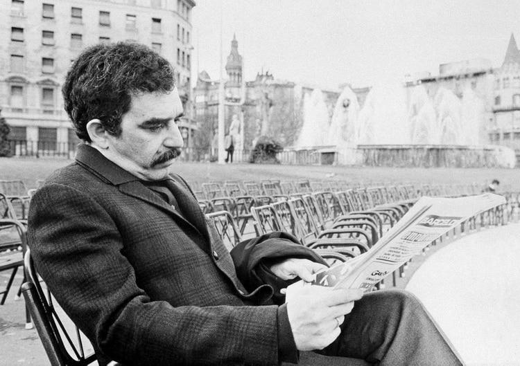 Gabriel García Márquez en Barcelona, España, en 1970
