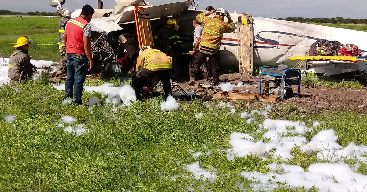 A plane crashed in Durango: One person is reported dead