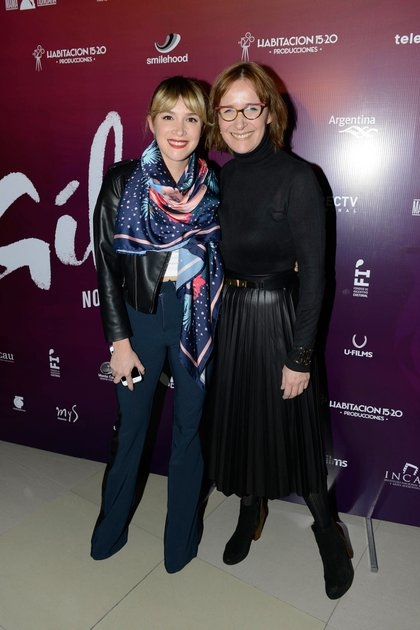 Sofía Pachano junto a su madre, Ana Sanz