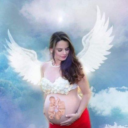 """""""Estoy muy abatido. No puedo sacar a Larissa de mi cabeza. Cuando una madre muere durante el parto, se convierte en un ángel"""", sostuvo Diego (Foto/Facebook)."""
