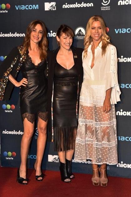 Vero Lozano, Connie Ansaldi y Nicole Neumann