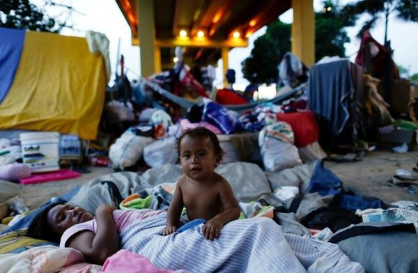 Miles de venezolanos llegan mes a mes a Brasil (Reuters)